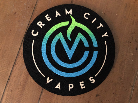 "8"" Cream City Vapes Moodmat"