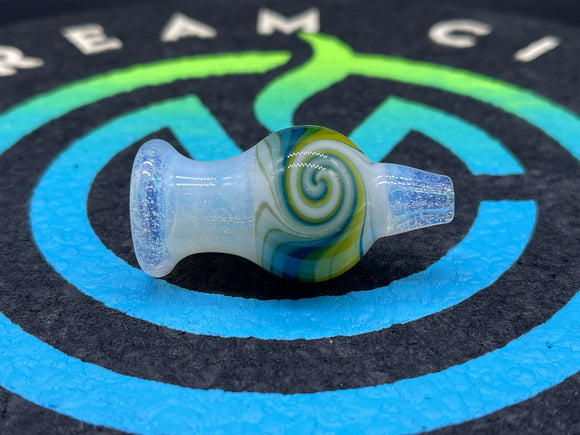 Mitchell Glass 25MM Bubble Cap #7