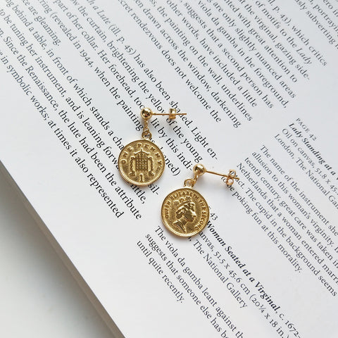 Coin Earring