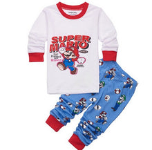 Load image into Gallery viewer, Childrens Aircraft Print Pajamas Baby Cartoon Pijamas Kids Animal Clothing Set Boy's Girls Nightwear Sleepwear Kids Pajama