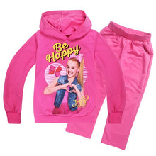 Load image into Gallery viewer, JOJO siwa Sports suit  girl autumn childrens sweatshirts clothing toddler sportswear Underwear Long-sleeved T-shirt Trousers