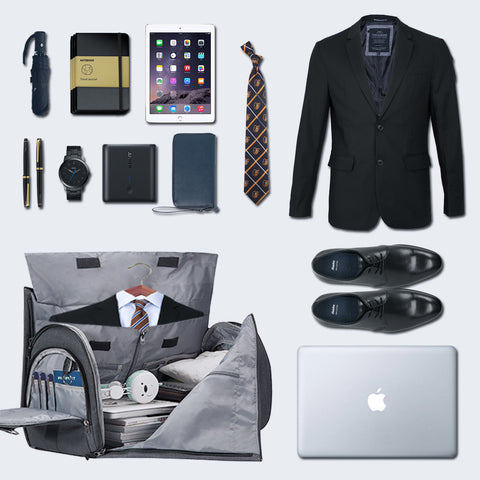 Garment bag for suit