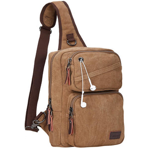 Modoker Canvas Chest Bag For Men-Chest Bag-Modoker-Modoker