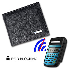 Modoker RFID Blocking Smart Wallet Cowhide Leather-Wallet-Modoker-Modoker
