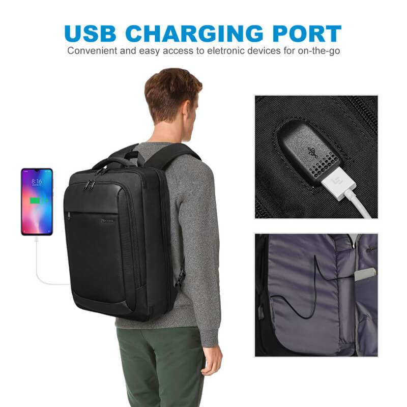 Business & Travel Backpack with TSA LOCK - Modoker
