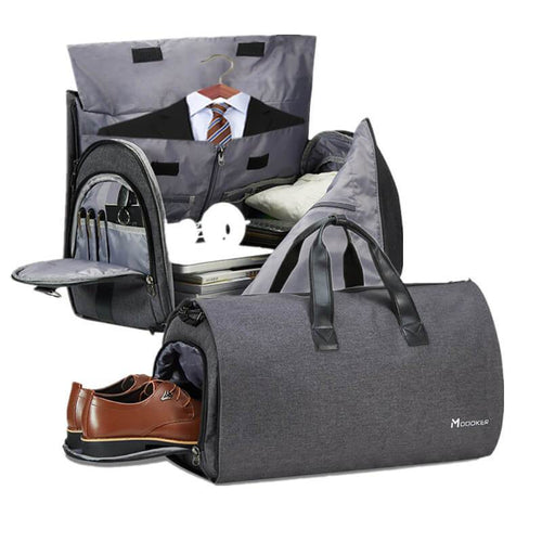 Carry On Garment Bag for Travel Wrinkless Suits - Modoker