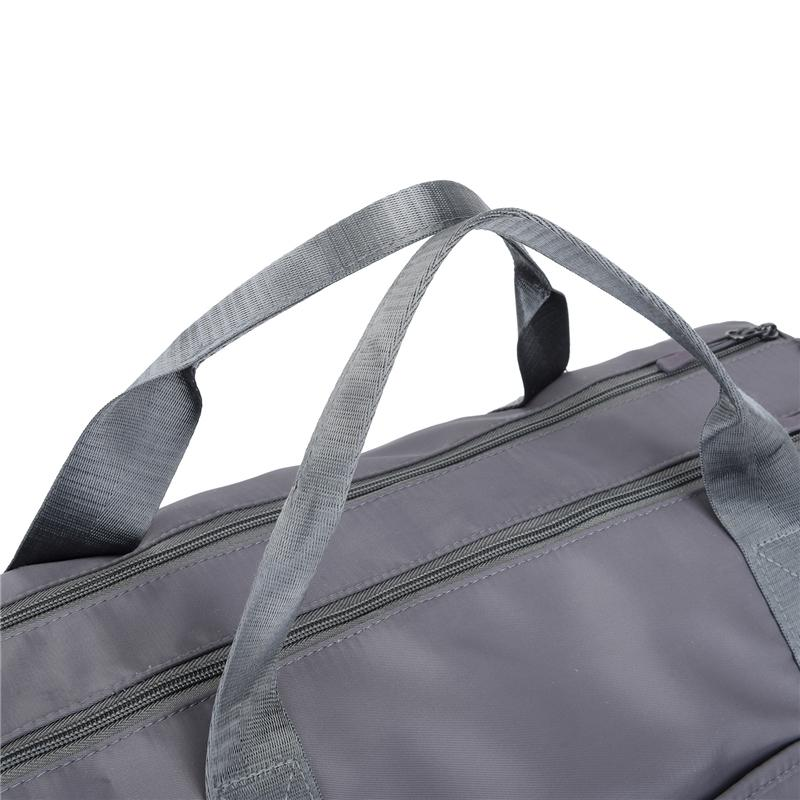 Gym Bag Workout Duffel Bag For Women, Sports Grey Travel Bags with Dry Wet Pocket - Modoker