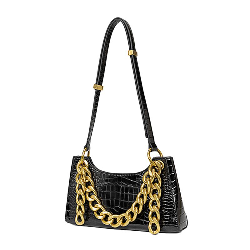 Modoker Retro Classic Crocodile Pattern Shoulder HandBag for Women - Modoker