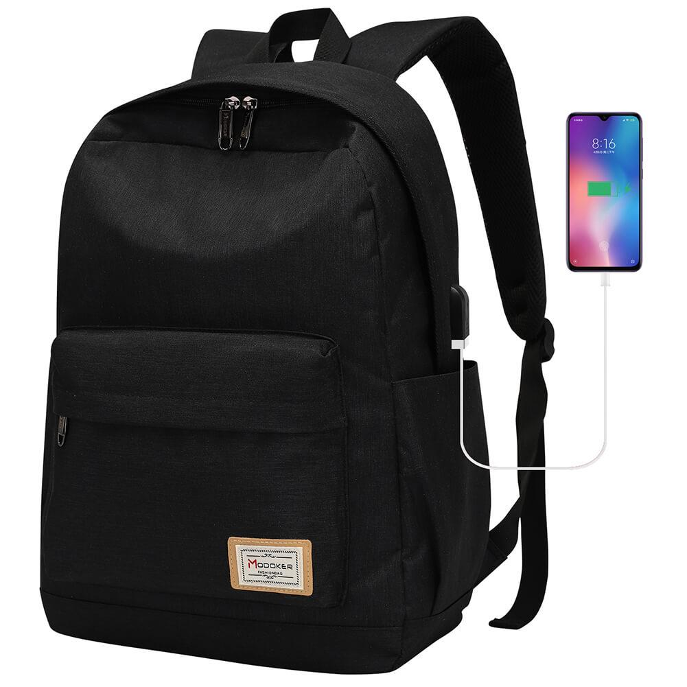 School Bookbag&Backpack with USB Charging - Modoker