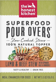 Honest Kitchen Superfood Pour Overs - Lamb & Beef - Kibble