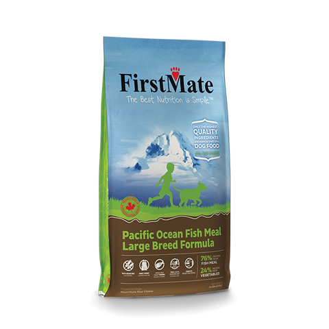 FirstMate Pacific Ocean Fish Meal – Large Breed Formula - Kibble