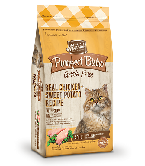 Purrfect Bistro Grain Free Real Chicken + Sweet Potato Recipe - Kibble