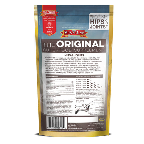 The Missing Link Original Hips & Joints Powder - Kibble