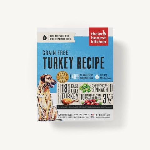 Honest Kitchen Grain Free Turkey - Kibble