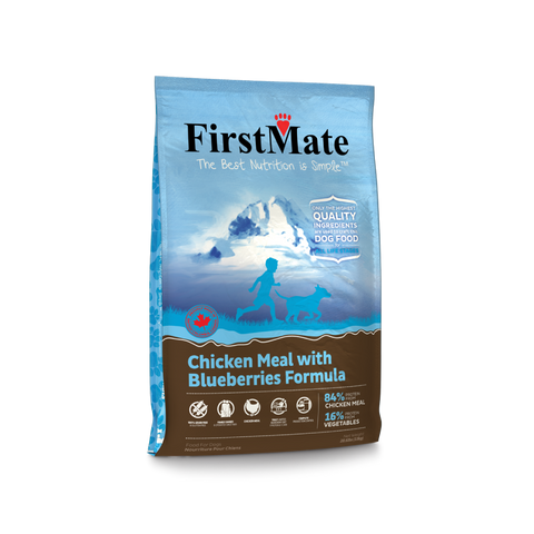FirstMate Chicken Meal with Blueberries Formula - Kibble