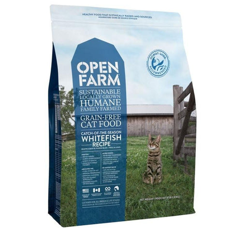 Open Farm Catch-Of-The-Season Whitefish Cat Food - Kibble