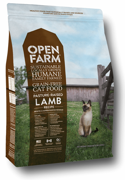 Pasture Raised Lamb Cat Food - Kibble