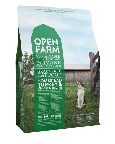 Homestead Turkey and Chicken Cat Food - Kibble