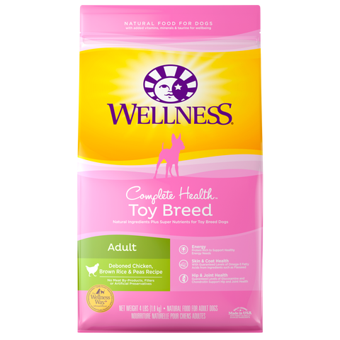 Wellness Complete Health Toy Breed Adult - Kibble