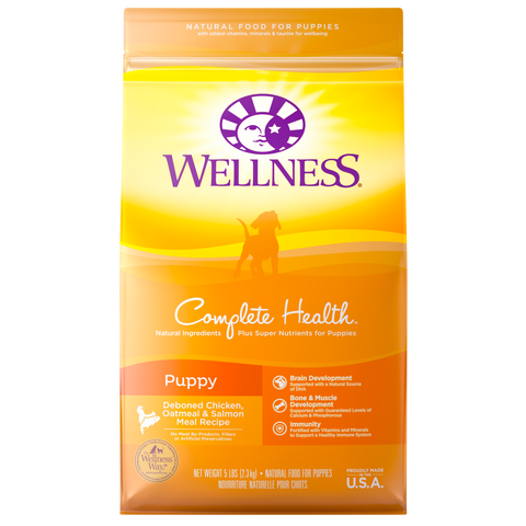 Wellness Complete Health Puppy Chicken and Salmon - Kibble