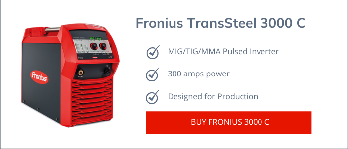 Fronius TransSteel 3500 C pulse Review