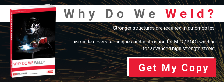 Why do we weld? download booklet on welding AHSS and Borons steels