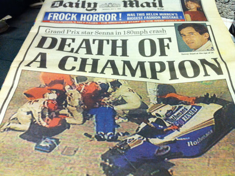 Senna Daily Mail Headline