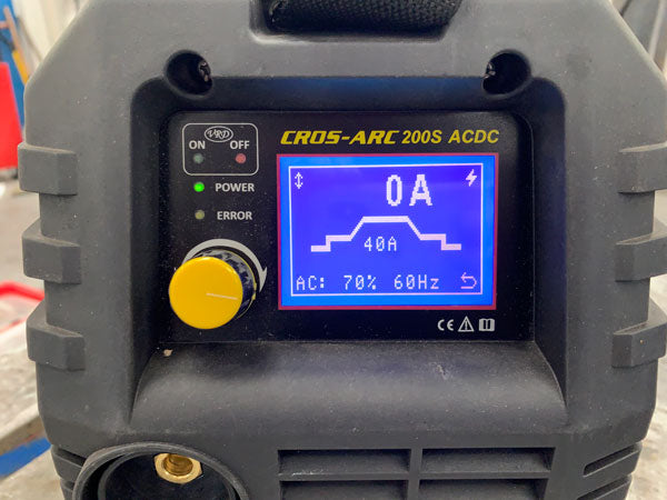 Cros Arc 200S acdc Front control panel