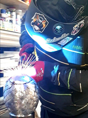 MIG Welding A dragons egg