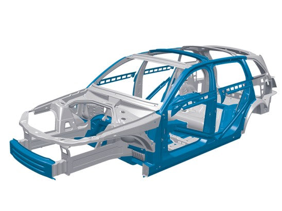 Boron Steel in vehicle frame
