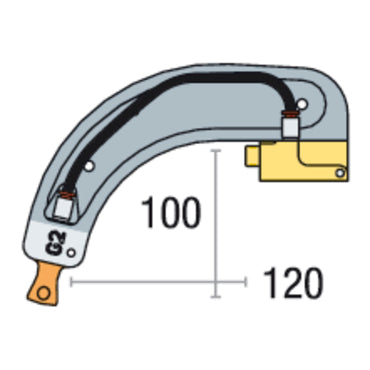 GYS GENIUS G2  Arm  Part No:022775