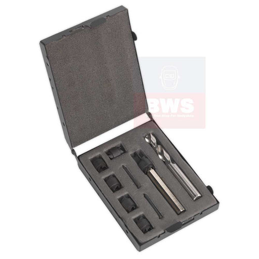 sealed Spot Weld Cutter & Drill Bit Set 9pc Ø10mm