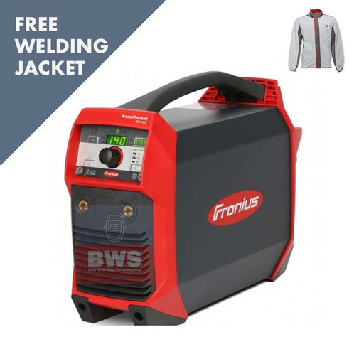 fronius accupocket 150 DC TIG with free jacket SKU 4,075,201,850