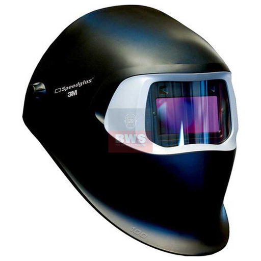 3M SPEEDGLAS 100 BLACK WELDING HELMET - SKU 751120