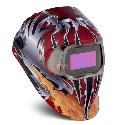 SPEEDGLAS 100 RAZOR DRAGON WELDING HELMET - SKU 752420