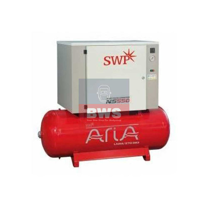 Aria Compressor Super Silent 7.5HP 270L 400V SKU LN55_270BS3