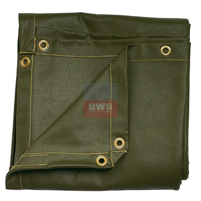 Parweld Canvas Welding Curtain with Eyelets 1.8 x1.8 SKU P3666G / 8X6 SKU P3886CG