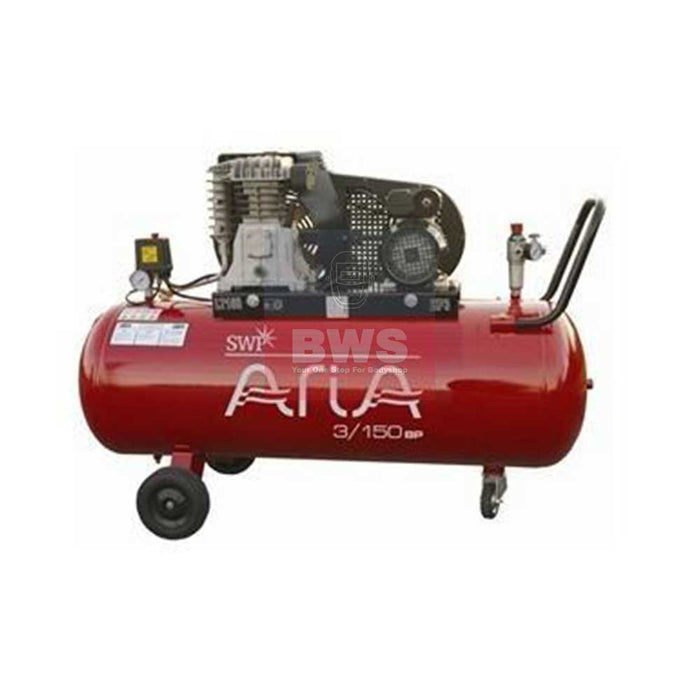 SWP ARIA COMPRESSOR MOBILE 3HP 150L 230V SKU 3/150BP