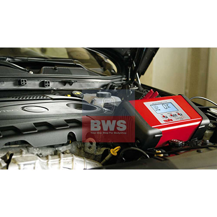 Telwin Doctor Charge 50 Battery Manager-BSU On a Vehicle SKU 807598