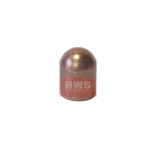 13mm ISO Standard Domed Welding Cap CuCrZr SKU FF13C00