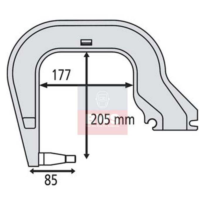 GYS C3 Arm Non Insulated SKU 019157
