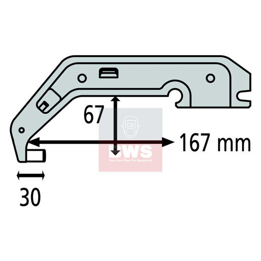 GYS C5 Arm Non Insulated SKU 019294