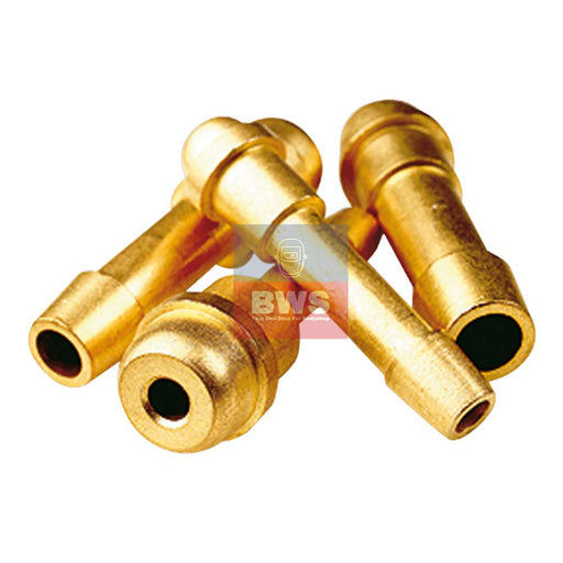 GAS WELDING HOSE TAILS FOR 1/4″ BSP NUT- 5/16″ (8MM) TAIL SKU 030017