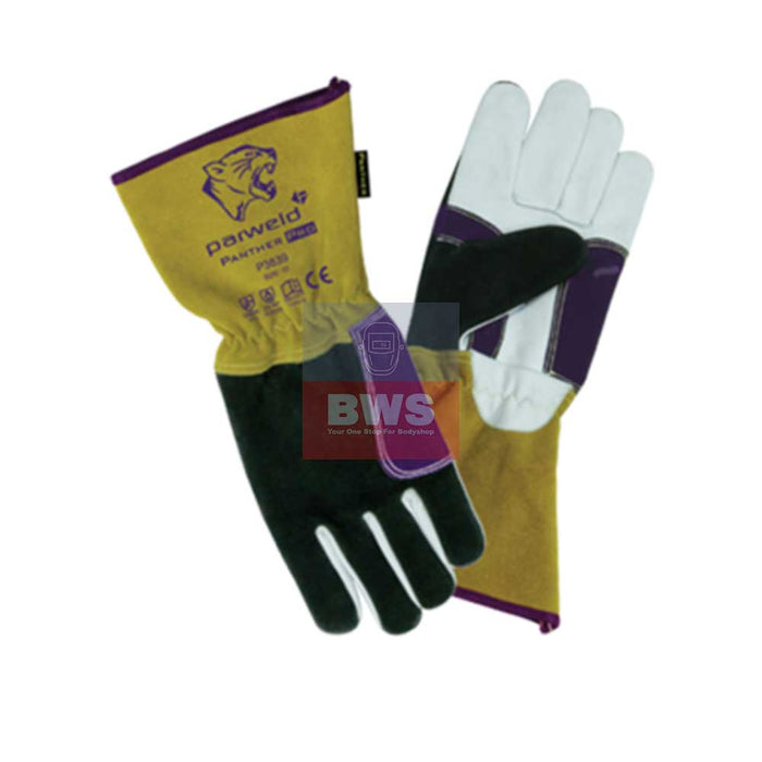 The Panther Pro is a lightweight welding glove ideal for car body repair work as well as TIG welding SKU P3839