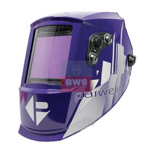 PARWELD THE XR937H EXTRA LARGE VIEW LIGHT REACTIVE WELDING AND GRINDING HELMET SKU XR937H