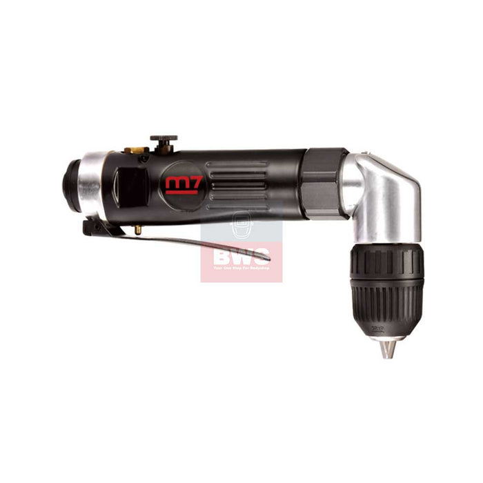 MIGHTY SEVEN PNEUMATIC AIR TOOLS  3/8 90° REVERSIBLE DRILL KEYLESS - SKU QE-633