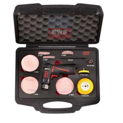 Mighty Seven M7 Mini Tool Grinder Set + Case - SKU QP-213N