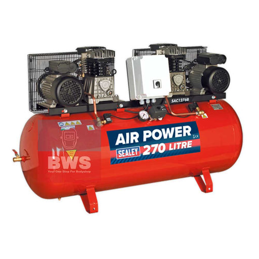 Sealey Compressor SAC1276B 270 Litre SKU SAC1276B