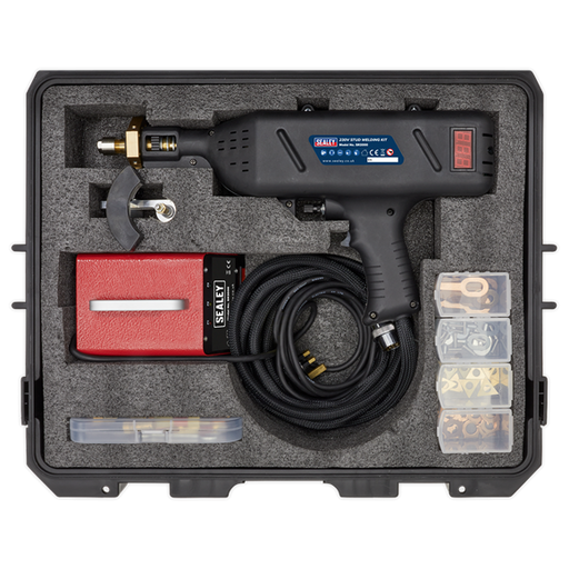 SEALEY -Stud Welding Kit In a Plastic Case-230V