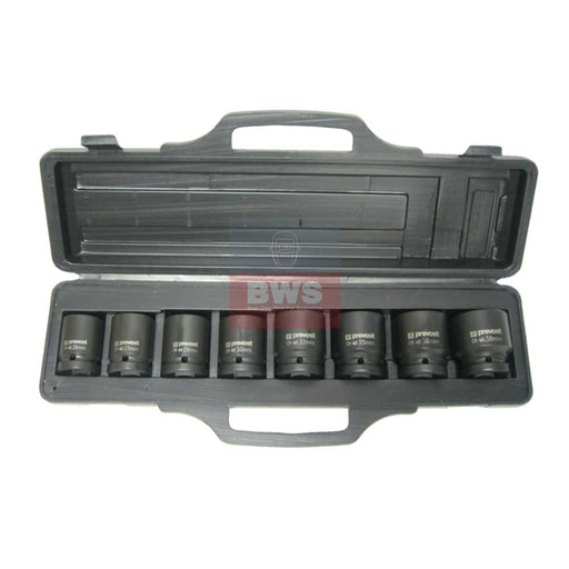 "BOX OF 8 SOCKETS FOR 3/4"" SQUARE IMPACT WRENCHES - SKU TIW 8S34"
